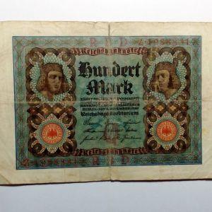 ΓΕΡΜΑΝΙΑ 100 Mark 1920