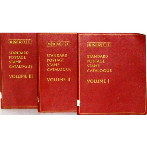 SCOTT  STANDARD  POST  CATALOGUE [VOLUME  1,2,3]  [tritomos  katalogos  grammatosimon se  mia  spaniotati ekdosi tou 1973]