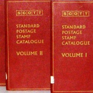 SCOTT  STANDARD  POST  CATALOGUE [VOLUME  1,2,3]  [ΤΡΙΤΟΜΟΣ  ΚΑΤΑΛΟΓΟΣ  ΓΡΑΜΜΑΤΟΣΗΜΩΝ ΣΕ  ΜΙΑ  ΣΠΑΝΙΟΤΑΤΗ ΕΚΔΟΣΗ ΤΟΥ 1973]