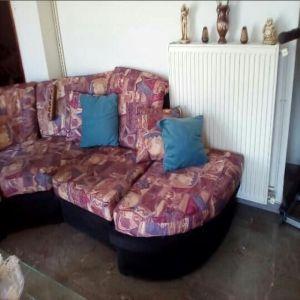 Πολυμορφικός Γωνιακός Καναπές που γίνεται και κρεβάτι
