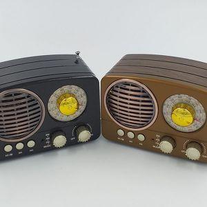 Meier M-161BT Ρετρό ραδιόφωνο FM Ηχείο Bluetooth