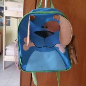 τσάντα νηπιαγωγειου σκυλακι