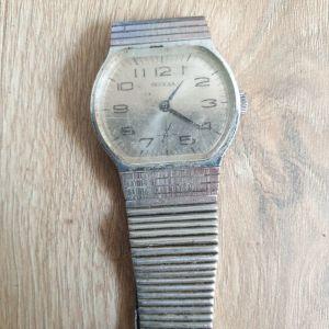Ρολόι  , Pobeda Μηχανικό Ρωσικό Σοβιετικό Ρολόι  Победа Σπάνιο  USSR Часы 1947