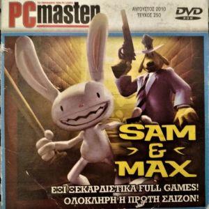 Πωλούνται 6 παιχνίδια SAM & MAX για PC σε 1 DVD-ROM
