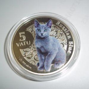 Αναμνηστικά κέρματα με Γάτες 6