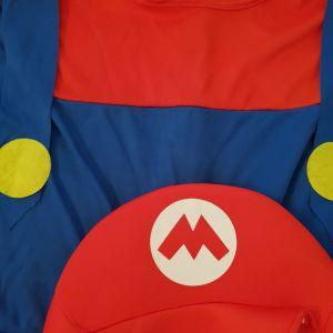 Αποκριάτικη στολή super Mario για αγόρι