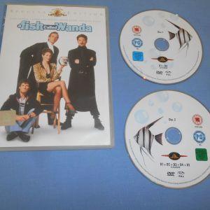 ΕΝΑ ΨΑΑΡΙ ΠΟΥ ΤΟ ΕΛΕΓΑΝ ΓΟΥΑΝΤΑ / A FISH CALLED WANDA - 2 DVD