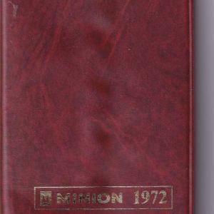 ΗΜΕΡΟΛΟΓΙΟ του ΜΙΝΙΟΝ 1972