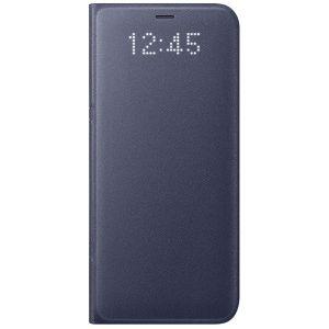 Σφραγισμένη θήκη Samsung Led View Cover για Galaxy S8+ Violet
