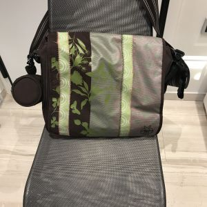 Βρεφική τσάντα αλλαγής Lassig καφέ