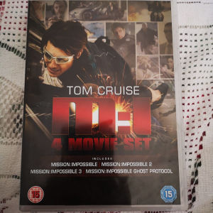 """4 DVD Box Set """"Mission Impossible"""""""