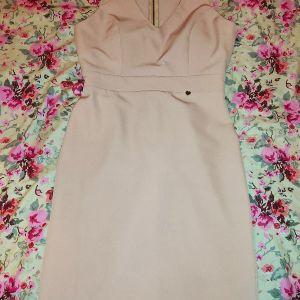Φόρεμα Paranoia σε χρώμα ροζ της πούδρας