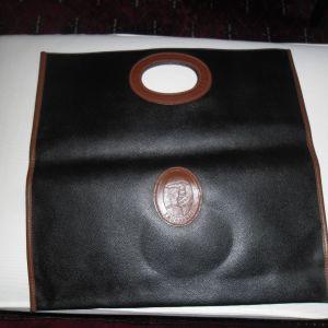 Trussardi Δερμάτινη Τσάντα