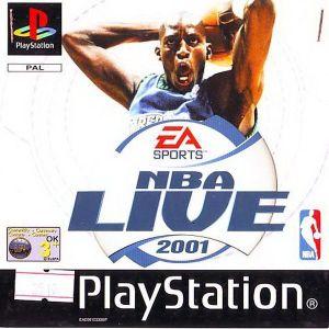 NBA LIVE 2001 - PS1