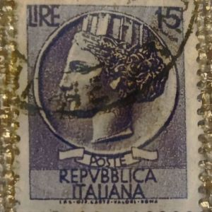 Ιταλικό γραμματόσημο (1968)
