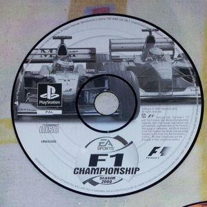 ΠΑΙΧΝΙΔΙ VIDEOGAME PS1 - F1 CHAMPIONSHIP SEASON 2000