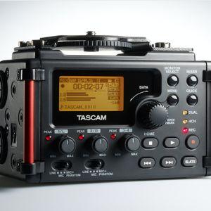Επαγγελματικός Εγγραφέας Ήχου Tascam DR-60D MkII