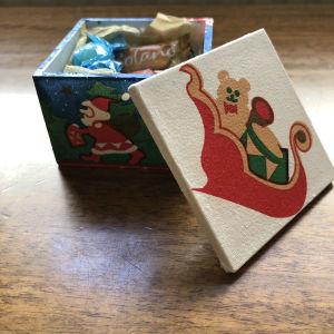 Χριστουγεννιάτικο χειροποίητο κουτάκι