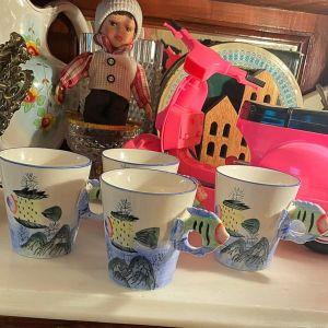 Κούπες Πορσελάνη Καφέ ή Τσάι