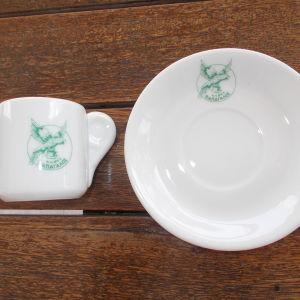 Καφές ΠΑΠΑΓΑΛΟΣ φλυτζανακι + πιατακι