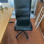 Διευθυντική Καρέκλα Line-D (Dromeas) δερμάτινη, χωρις φθορες και σε εξαιρετικη κατασταση
