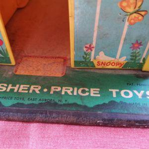 παιχνίδια Fisher Price  1969 play family house