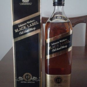 johnnie walker 12 year old black label extra special - 1980s