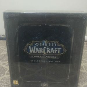 World of Warcraft Battle for Azeroth - COLLECTOR'S EDITION (ΣΦΡΑΓΙΣΜΕΝΟ - SEALED)