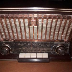 PHILIPS PHILETTA BD 273U, ΛΑΜΠΑΤΟ ΡΑΔΙΟΦΩΝΟ ΤΟΥ 1959 ΜΕ FM.