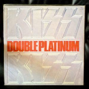 KISS - Double Platinum 2LP Rare UK 1982