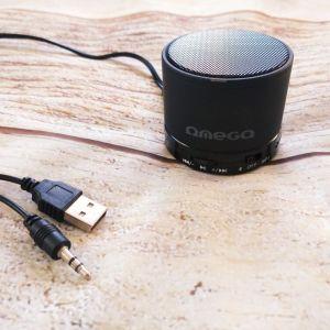"""Ηχείο Bluetooth OMEGA """"OG47 - Moovo"""" Bluetooth Speaker """"3in1"""" - black."""