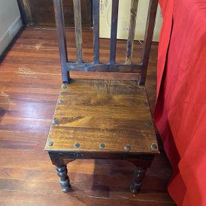 Καρέκλες teak μασίφ