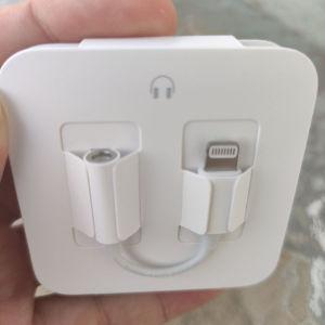 New. Apple adapter ακουστικά lighting - 3,5 Jack. 100% Original OFFICIAL. 100% Ολοκαίνουργιο!