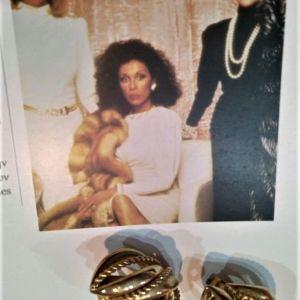Vintage σκουλαρίκια 80s