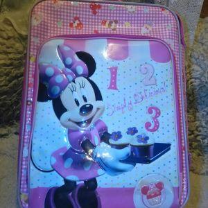 Disney Minnie Mouse 55x36x20cm  Βαλίτσα Ταξιδίου