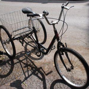 τρικυκλο ποδηλατο  6 ταχ, kuwahara