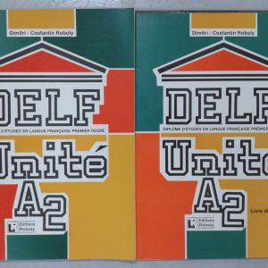 Γαλλικά εκπαιδευτικά βιβλία. DELF UNITE A2. Delf A2.