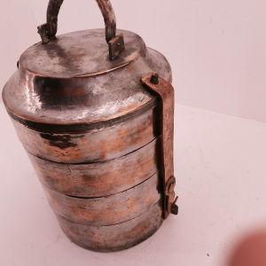 καστανιά χάλκινη εποχής 1870 σπάνιο κομμάτι σε πολύ καλή κατασταση