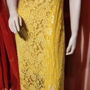 Φανταστικό φόρεμα ολοκαίνουργιο σε χρώμα κίτρινο.