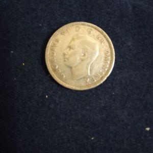 Παλαιό   Αγγλικό  Νόμισμα  έτους    1942    (1  Σελίνι)