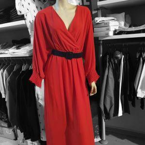 Κόκκινο Φόρεμα  BSB Ολοκαίνουριο
