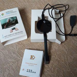 Ασύρματο HDMI Dongle προβολής αρχείων DLNA μεταξύ των συσκευών σας