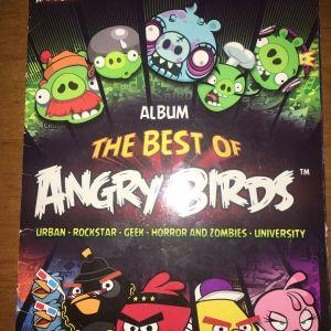 Άλμπουμ αυτοκόλλητων angry birds  με 39 χαρτάκια στα 208 ..