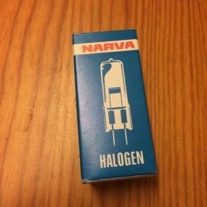 Project  lamps Narva Halogen 12V 50W G 6,35-15 HLWS4 DDR