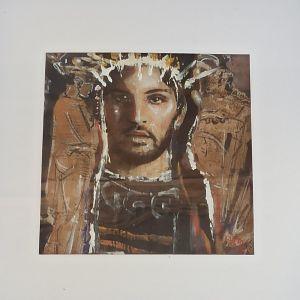 Πίνακας από τον Λάζαρο Πάντο τυπου Φαγιούμ