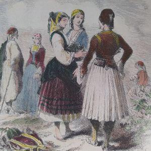 Τυποι και φορεσιές Ελλήνων της Κριμαίας 19ος αιώνας μέσα