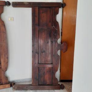 Κρεβάτι διπλό ξύλινο
