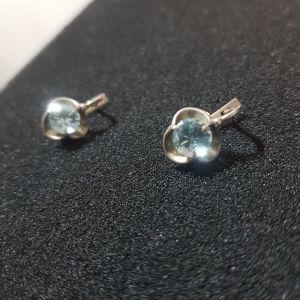 σκουλαρίκια ασημένια 4