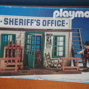 Playmobil sheriff's office 3423