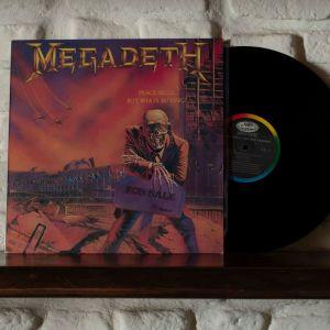 MEGADETH-PEACE SELLS